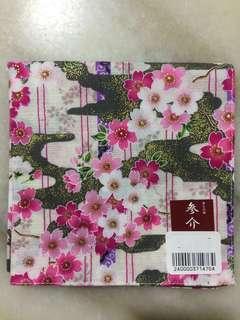 🆕Japanese Handkerchief in Floral Motifs