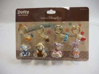 Duffy and friends匙扣