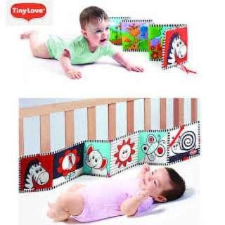 Double Sided Cot Bumper Activity Toy
