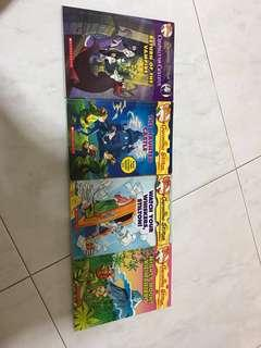 Geronimo Stilton books and thea stilton