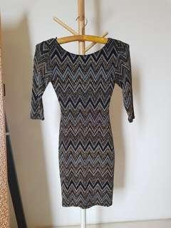 New look body fitted dress