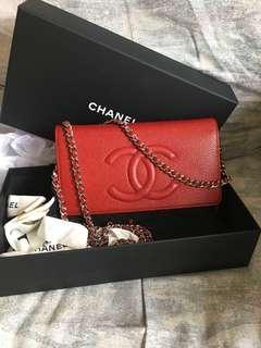 🚚 Chanel timeless Woc flap bag