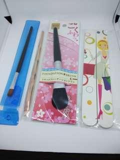 Bundle: Brushes and Nail File