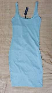 Kimi Scooped Bodycon Midi Dress