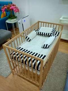 Baby Cot + Tilam baby customade
