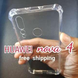 HUAWEI nova 4 Anti Shock Proof Transparent Hard Cover Case