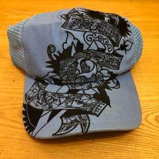 ED hardy 帽子 (藍)