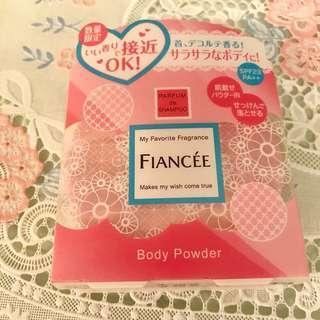 Fiancee香薰身體粉餅(可用於面部)