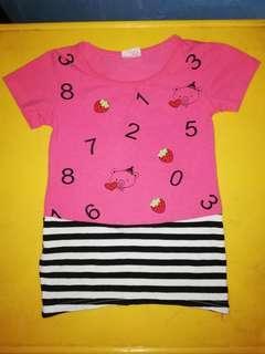 number dress