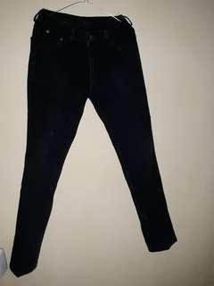 Preloved Jeans Hitam jual murah jual cepet