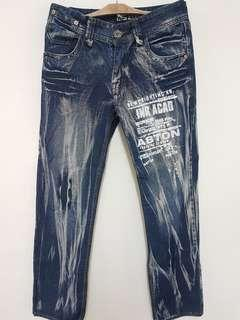 Men's Korean Style Jeans (Size: 30)