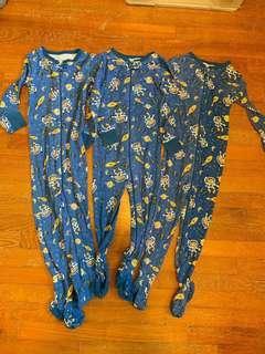 Boy Sleep Suit / Body Suit / Sleep Bag / Cosi Bag (1-3yrs)
