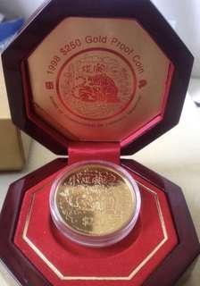 Singapore Coin - Tiger Gold Coin (999) ❤️❤️💙💙💚💚💛💛