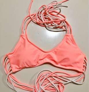 Forever 21 Neon Bikini Top