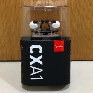Fender CXA1 earbuds earphones ear buds phones white guitar keyboard piano professional premium birthday Christmas gift valentine's valentines