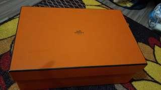 HERMES SHOE BOX