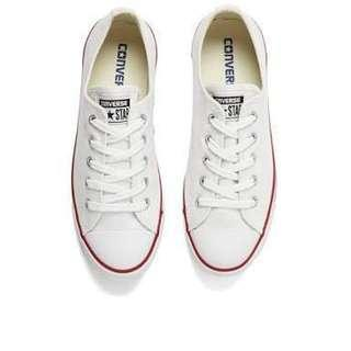 [REPRICED] AUTH Converse White All Star Dainty
