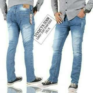 Jeans cutbray cowo