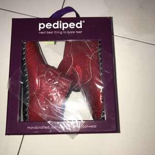 🚚 BNIB Pediped Lionel Red Patent