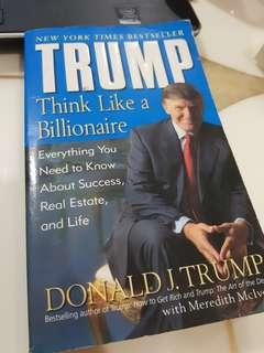 🚚 Think like a billionaire by trump