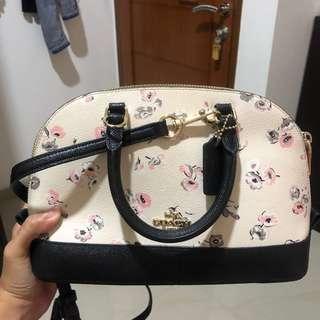 Coach flower bag mini