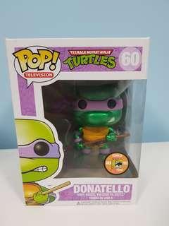 Funko Pop Donatello (Metallic) SDCC Exclusive