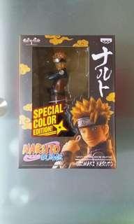 火影忍者 疾風傳 Naruto 眼鏡廠 景品 透明特別版 鳴門 鳴人