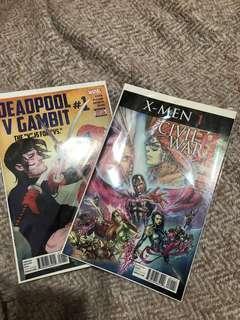 Marvel Comics (never opened)