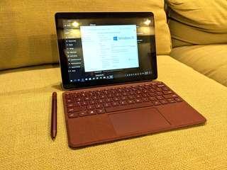 Microsoft Surface Go with Pen and Alcantara keyboard