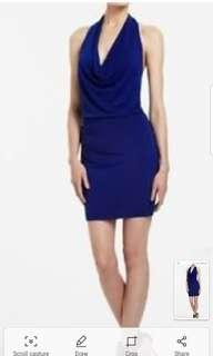 XXS draped neck BCBG dress