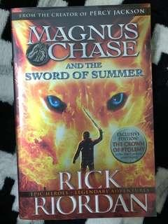 Magnus chase & the sword of summer
