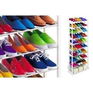 💥Amazing Shoes Rack 💥 Space Saving 10 Tier Level organizer