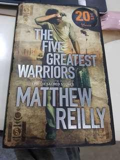 🚚 The five greatest warriors by Matthew reilly