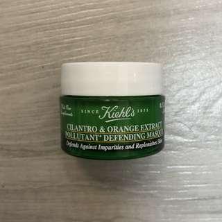 Kiehl's cilantro & orange extract pollutant defending masque 草本香橙抗污染強化面膜 14ml