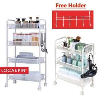 ♨️Multifunction Trolley♨️ Home Storage Rack Kitchen