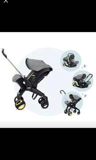 Donna and Isofix Base (Grey)