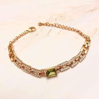 Crystal Bracelet 水晶 手鏈 手鍊 diva elegant