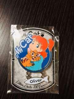 Disneyland Resort Paris pin 法國巴黎迪士尼徽章襟章 My Cat Series - Jenny and Oliver LE700 Disney pins