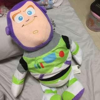 Buzz lightyear Toy story large plush about 60cm tall