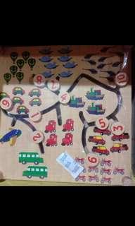 Maze mainan edukasi anak