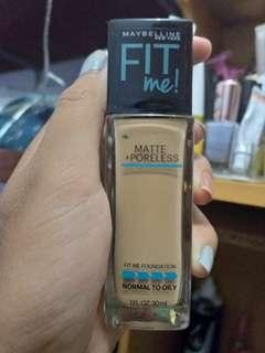 Maybelline fit me Matte and Poreless Foundation 220