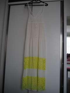 ZARA MAXI DRESS,COCOK BUAT KE BEACH CLUB