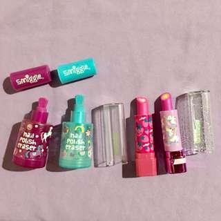Smiggle Erasers