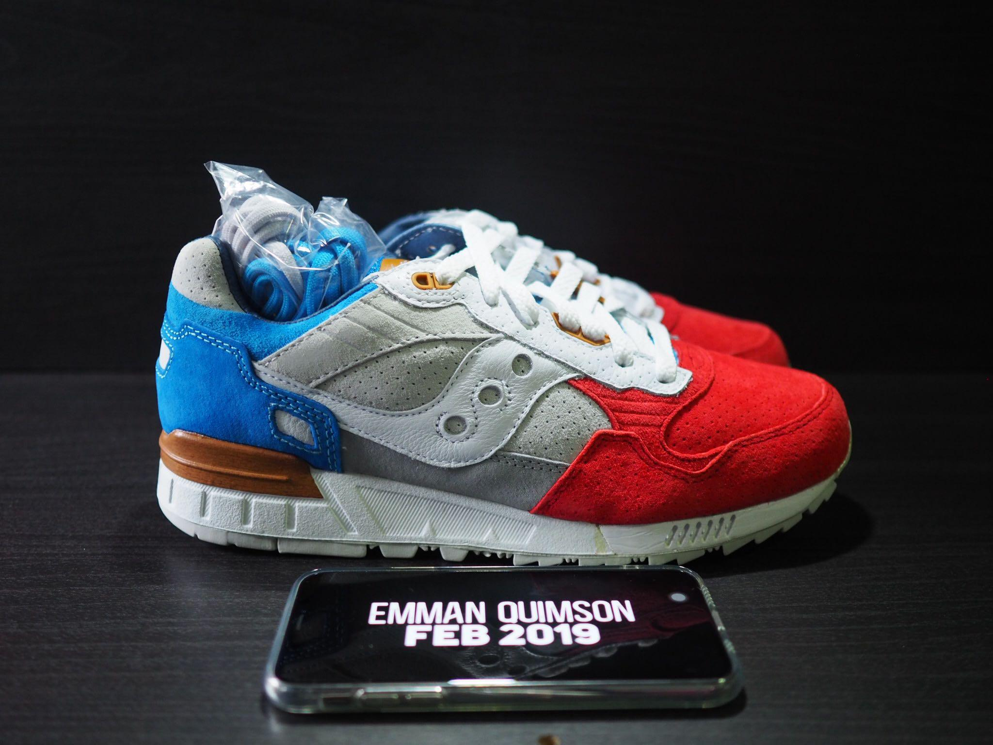 lowest price a086e 7d2a5 8.5US Sneakers 76 x Saucony Shadow 5000