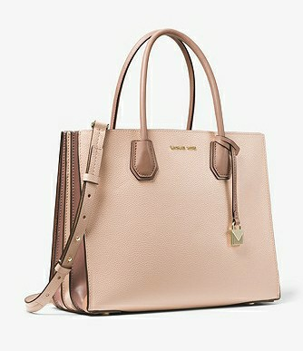 a0bf1fd57170 ❤ Michael Kors Mercer Large Pebbled Leather Accordion Tote ...