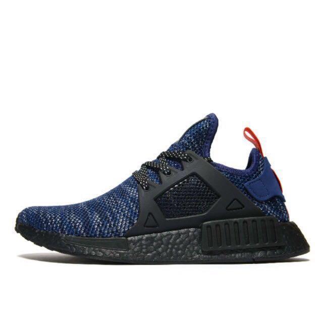 Adidas NMD XR1 blue glitch. UK 9, Men's Fashion, Footwear ...
