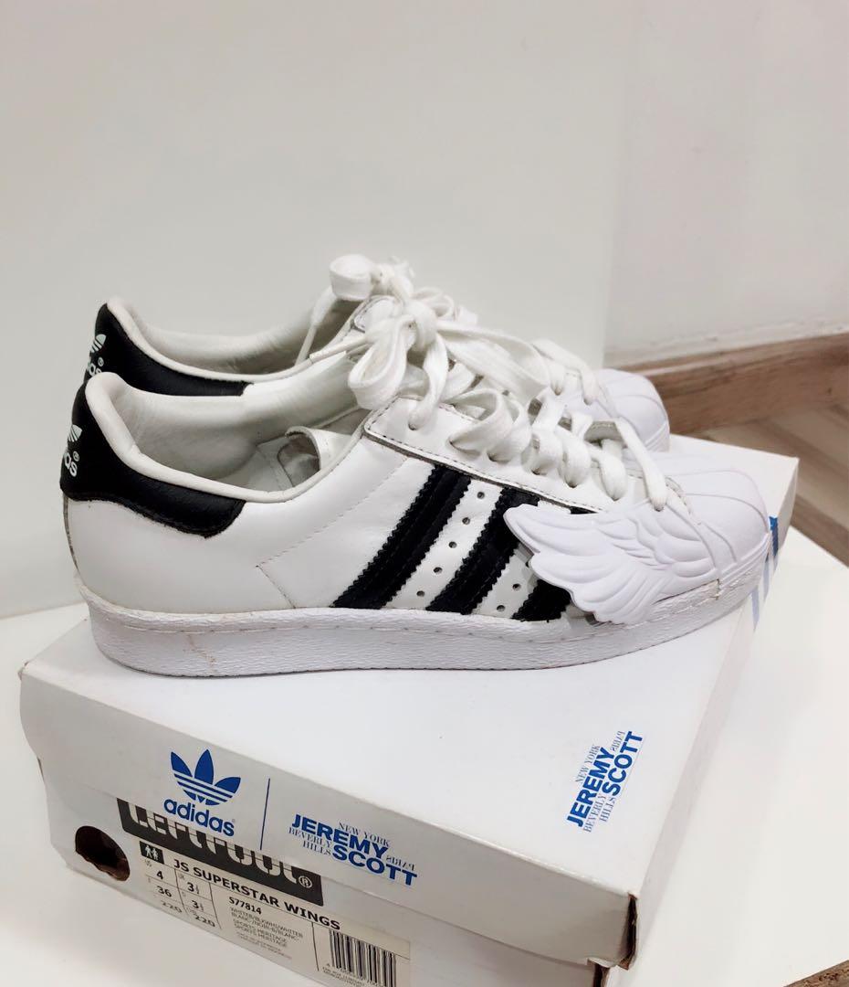 ecf74b900622 Adidas x Jeremy Scott White Sneakers (UK 3 1 2)