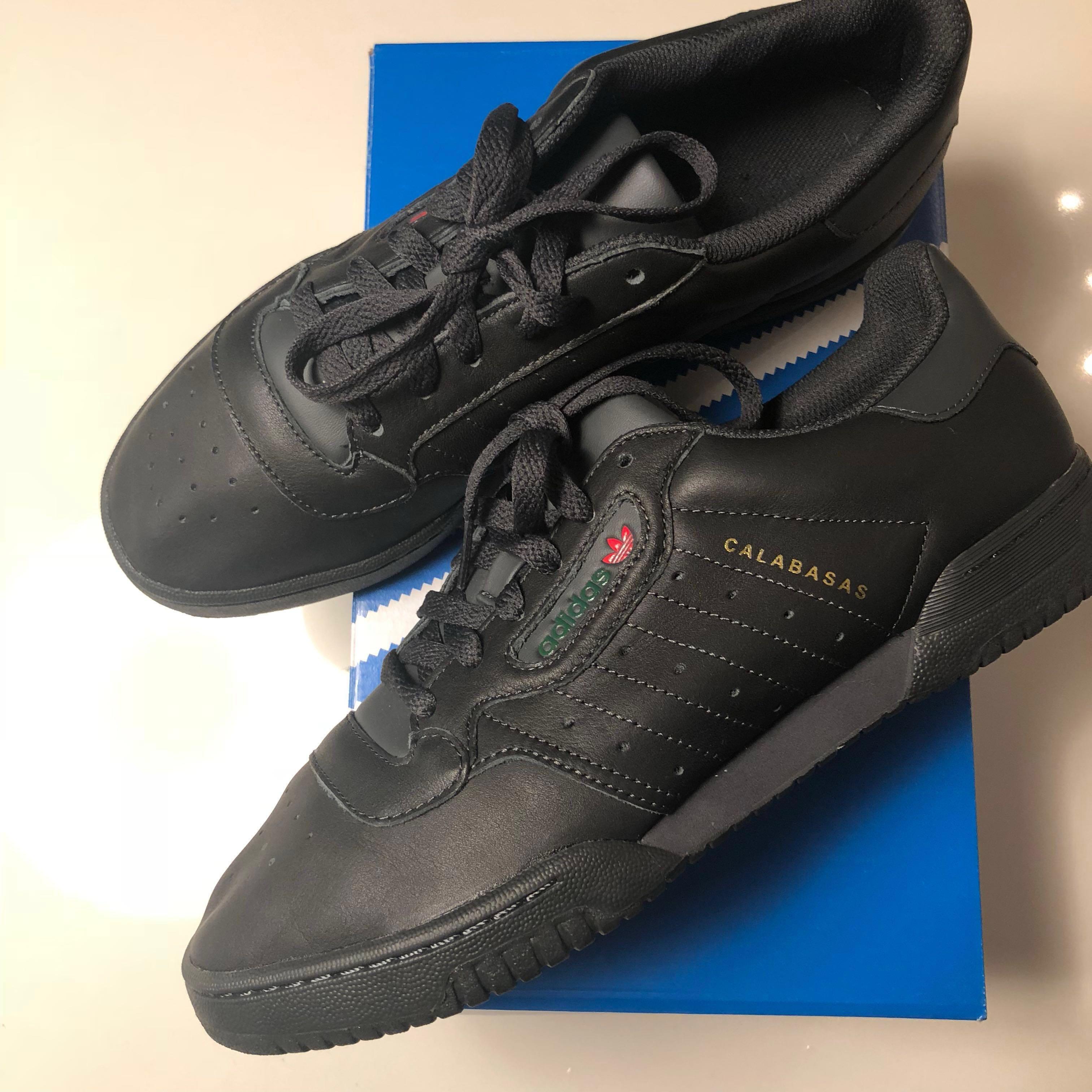 395ded935b336 Adidas Yeezy Powerphase Calabasas Black