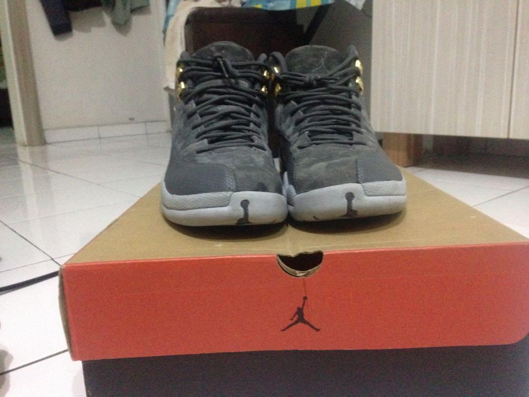 online store abe0d 3d60d air jordan 12 dark grey ORIGINAL not yeezy bape supreme ...