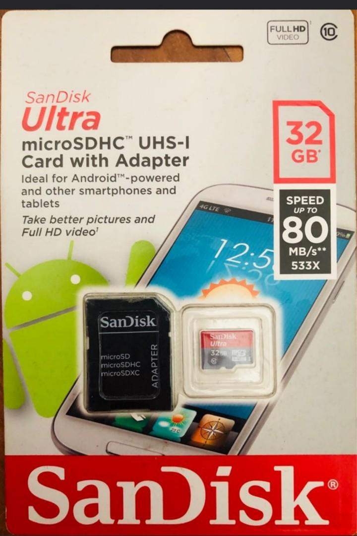 Beware of fake sandisk ultra a1 microsd cards!